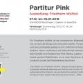 Ausstellung_Friedhelm Wolfrat_Partitur_Pink_Text