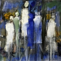 Friedhelm-Wolfrat_Frau-im-blauen-Kleid