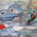 Friedhelm-Wolfrat_Kapitaen-Ahab-jagt-Moby-Dick