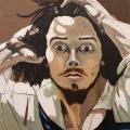 Friedhelm-Wolfrat-Gustave-Courbet-1819-1877-Der-Verzweifelte-1844-Portrait-Wolfrat-2019