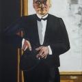 Friedhelm-Wolfrat-Max-Beckmann-1884-1950-Selbstbildnis-im-Smoking-1927-Portrait-Wolfrat-2019