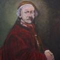 Friedhelm-Wolfrat-Rembrandt-1606-1669-Selbstportrait-1663-Portrait-Wolfrat-2017