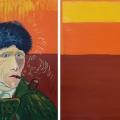 Friedhelm-Wolfrat-Vincent-van-Gogh-1853-1890-Selbstportrait-mit-verbundenem-Ohr-und-Pfeife-1889-Portrait-Wolfrat-und-Uebersetzung-2019