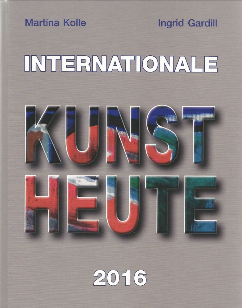 Internationale Kunst Heute 2016 - Titelseite