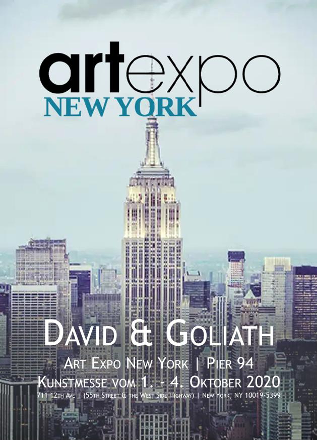 Plakat Art Expo New York 2020